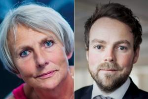 SL-leder Anne Finborud er glad for at Torbjørn Røe Isaksen har valgt å lyttet til ansatte i skolen, forskere og BI-miljøet hva gjelder prestasjonslønn. (Foto: SL/Pressebilde)