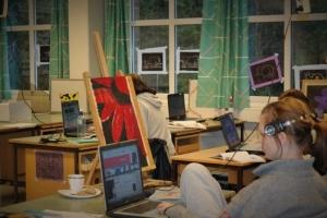 Ingen får tilbud om studiespesialisering med formgiving i Nordland i år.  (Foto: Wenche Hegdal Nilssen, Polarsirkelen vgs.)