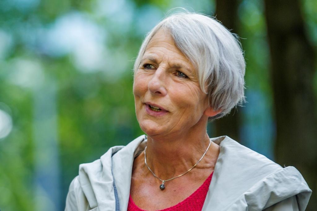 Anne Finborud, leder i Skolenes landsforbund (SL)