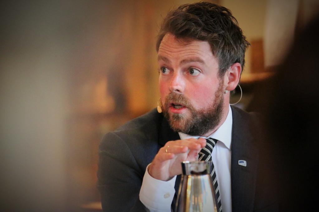 Kunnskapsminister Torbjørn Røe Isaksen. (Foto: SL)
