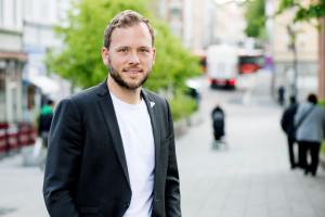 SV-leder Audun Lysbakken har kastet seg inn i den skolepolitiske debatten. (Foto: Marius Nyheim Kristoffersen/SV)