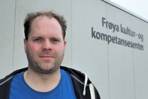 Bjørn Jensen er tillitsvalgt på Frøya videregående skole i Sør-Trøndelag. (Foto: Sidsel Valum, I skolen)